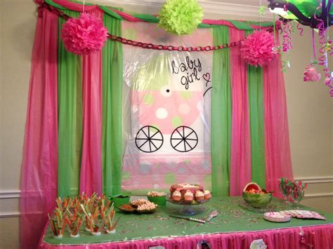 Baby Shower Decorations Pink And Green by Pink And Green Baby Shower Decorations Baby Showers Ideas
