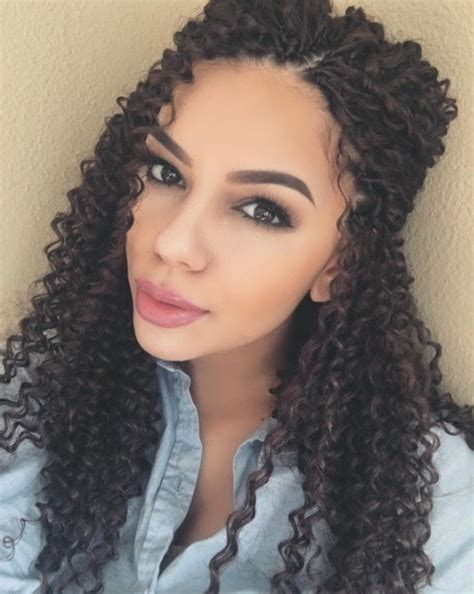 crochet hairstyles with curly long hair your complete guide to crochet braids from sleek and