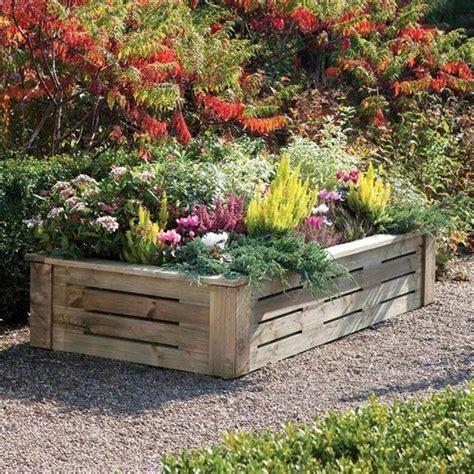 Raised Wooden Planters by Rowlinson Raised Wooden Planter 6 X 3 By Garden Storage