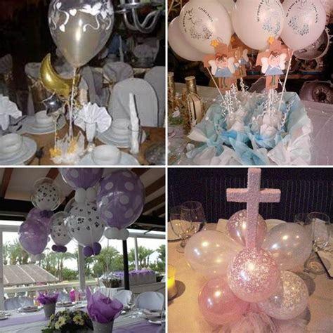 globos en mesa primera comunion 4 tile decoraci 243 n de