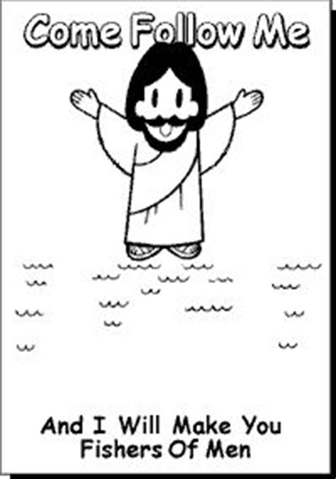 coloring pages jesus follow me 1000 images about fishers of church on