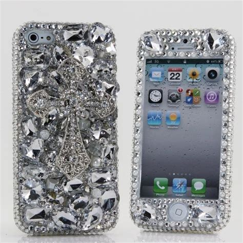 excessively encrusted crystal covers swarovski crystal iphone case