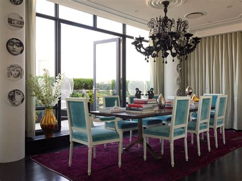 Colorful Dining Room Sets by Design Ideas For The Modern Townhouse