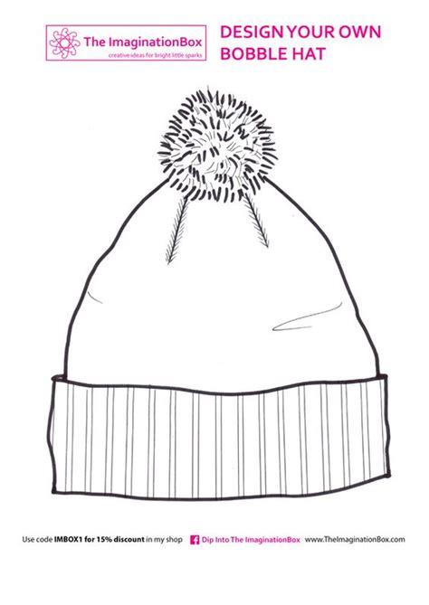 design a hat the imaginationbox design a bobble hat free template
