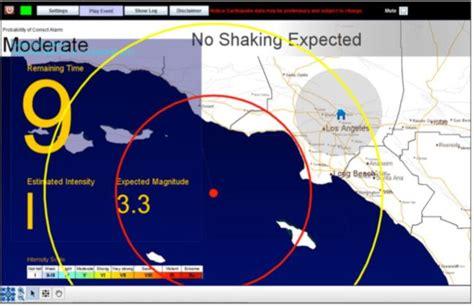 earthquake warning system california ripe for mega earthquake needs early warning