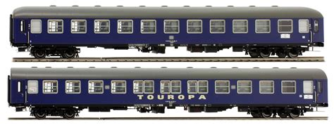 ls models set of 2 passenger cars touristik touropa set