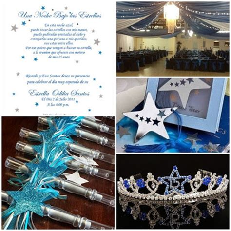 quinceanera star themes dancing under the stars sweet fifteen theme quince candles
