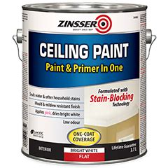 Primer As Ceiling Paint by Zinsser 174 Ceiling Paint Product Page