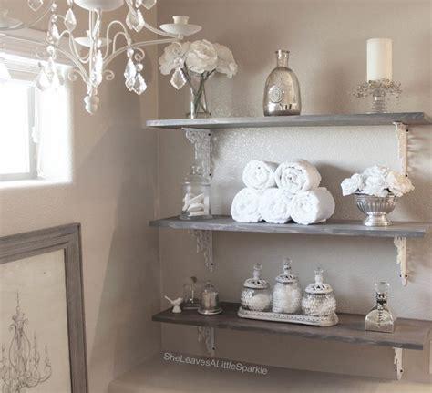 bathroom accessories shelves 25 best ideas about decorating bathroom shelves on