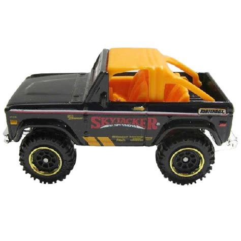 Matchbox Ford Bronco 4x4 matchbox ford bronco 4x4 skyjacker suspensions 1972