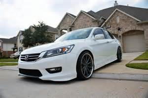 2014 honda accord on custom painted vossen cv1 s my cars