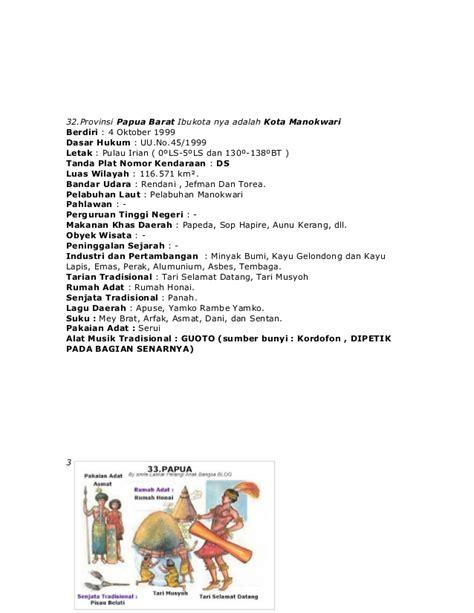 nama 33 provinsi di indonesia lengkap dengan pakaian gambar rumah adat indonesia 33 provinsi rumah zee