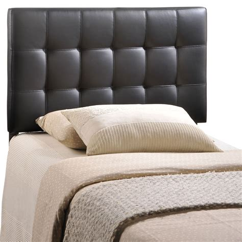 black headboard twin lily black twin vinyl headboard from renegade mod 5149