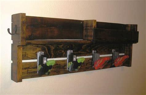 diy pallet coat rack  ski bindings pallet furniture
