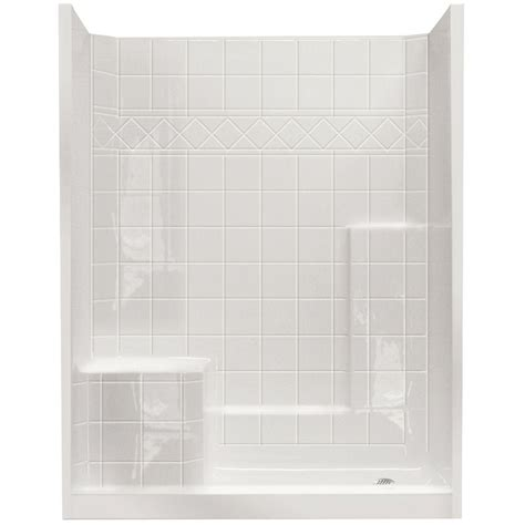home depot shower ella standard 32 in x 60 in x 77 in walk in shower kit