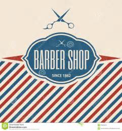 store template free retro barber shop vintage template royalty free stock