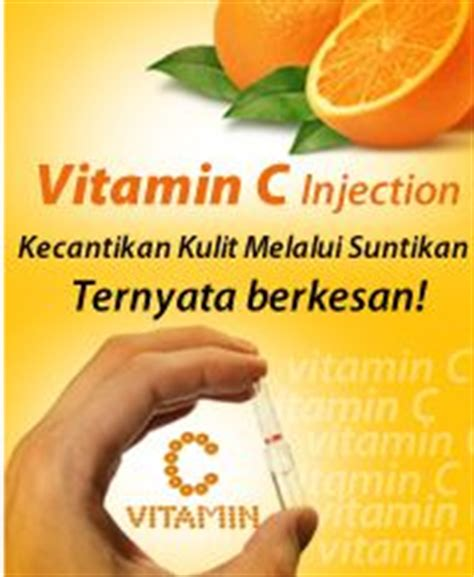 Suntikan Vitamin C Dan Collagen dunia kecantikan anda injection solution