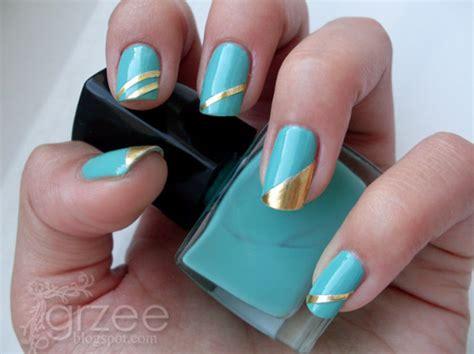 easy nail art designs using scotch tape 32 amazing diy nail art ideas using scotch tape style