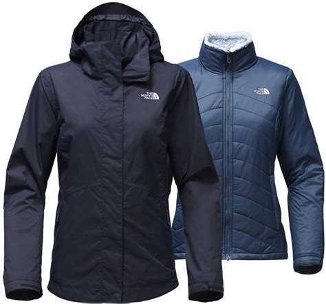 sale  north face mossbud swirl triclimate ski jacket