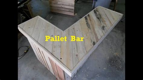 terry   garage pallet bar part  youtube