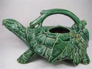mccoy pottery frog planter turtle sprinkler 2081963