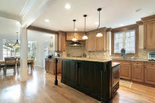 centre islands for kitchens gourmet kitchens and cabinets hannegan construction