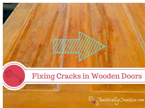 how to fix wood paneling repairing cracks in wooden door panels chaotically creative