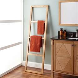 Stokes teak ladder towel rack new bathroom accessories bathroom