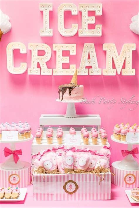 ice cream birthday party ideas 60 ice cream birthday party ideas pink lover