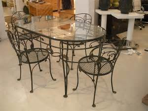 Wrought Iron Dining Room Table wrought iron glass top dining table decor ideasdecor ideas