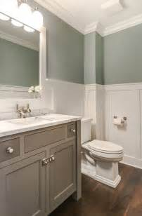 bathroom with wainscoting 17 best ideas about wainscoting bathroom on