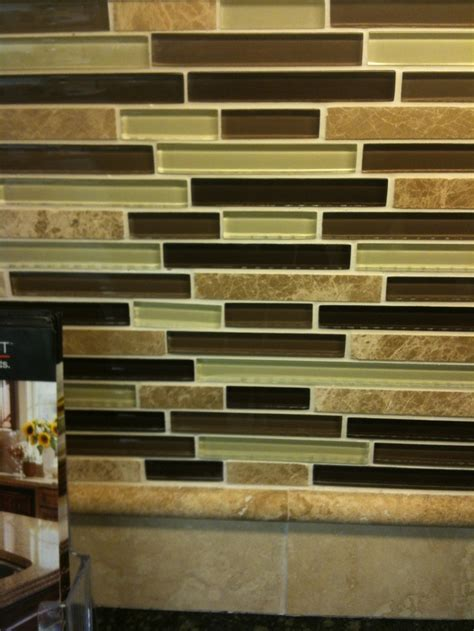 lowes kitchen backsplashes glass backsplash at lowes kitchen ideas pinterest