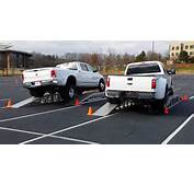 Frame Twist Test 2014 Ram 3500 Vs Ford F350  Muscle Horsepower