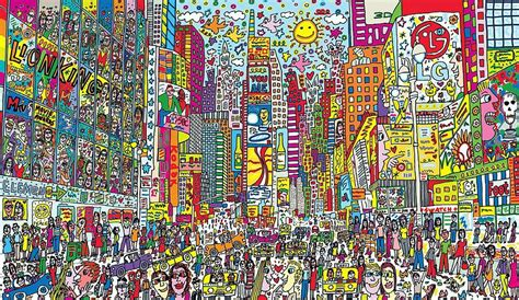 Colorful Beach Houses James Rizzi New York Based Pop Artist Dies At 61
