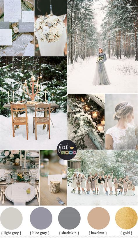 December Wedding Colours { Shades of Neutral Colours }