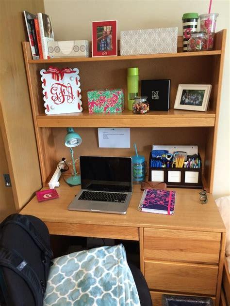 room desks desk organizing residencehall living college college rooms college room