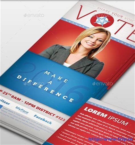 Caign Palm Card Template by 10 Best Political Palm Card Templates 2017 Frip In