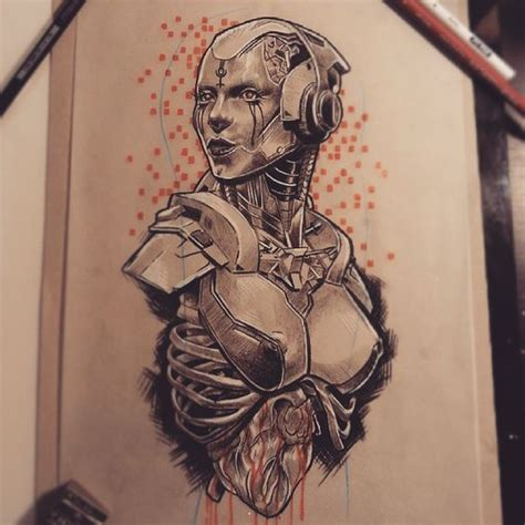 tattoo parlour terrigal this new robot lady is available i drew it with a upper
