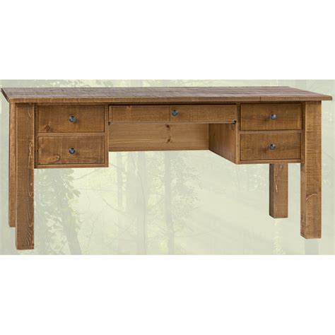 rustic home office desk solid wood home office desk rustic collection furniture