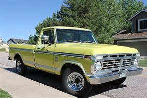 1973 Ford Truck 1973 Ford F250 For Sale Highlands Ranch Colorado
