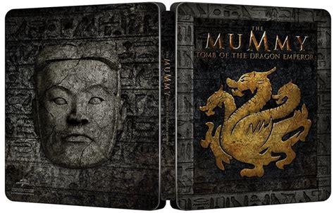 Bluray Ori Original Warrior 4k Uhd the mummy of the emperor steelbook limited collector s edition gift steelbook s