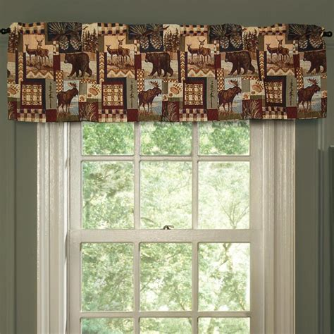 cabin curtains window treatments moose mountain window treatments cabin place