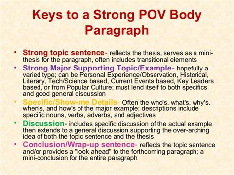 Strong Essay by Strong Thesis Paragraphs Writing Guides Writing Tutorial Services Indiana