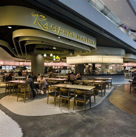 food court interior design portfolio rasapura masters food court by farm architecture