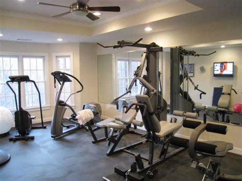 home exercise room design layout manly home gyms hgtv