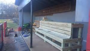 dugout bench plans baseball thanks joe westbury and westbury s hardware