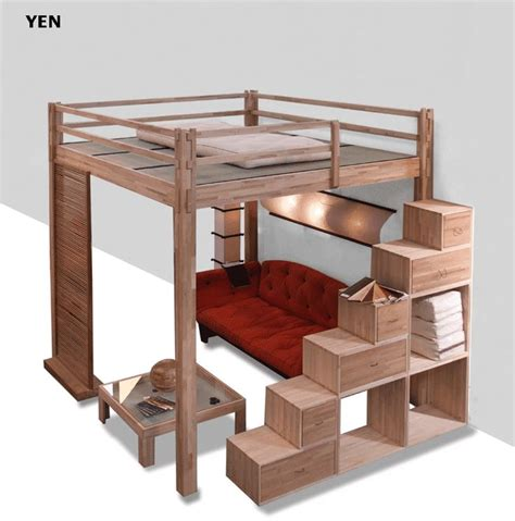 Bunk Bed Platform 25 Best Ideas About Sleeping Loft On Pinterest Tiny Houses Plans With Loft Houses With Lofts