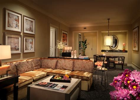 vegas hotels with 2 bedroom suites two bedroom lago suite at palazzo 1 943 square feet