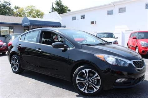 2014 Kia Forte Ex Black The 2014 Kia Forte Ex At St Petersburg Kia St