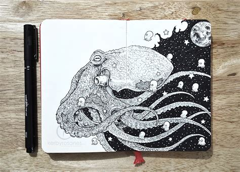 doodle drawing pens new impressively detailed doodles by kerby rosanes